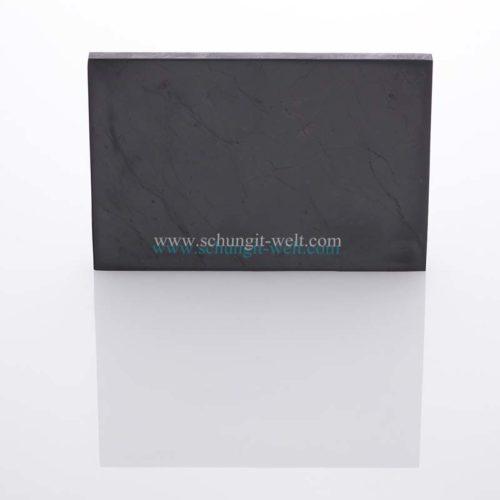 Schungit-Platte poliert-120