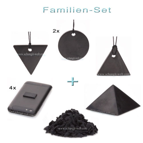 Schungit Familien-Set -0
