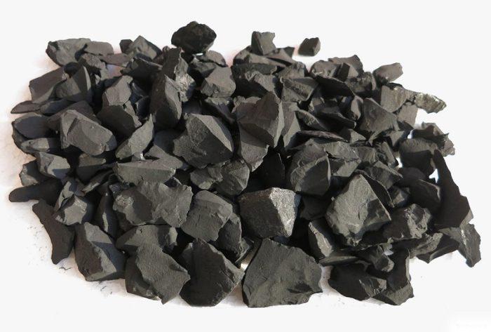Schungit-Rohsteine 20-80 mm-0