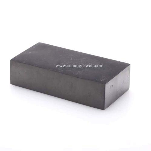 Schungit-Ziegelstein poliert-389