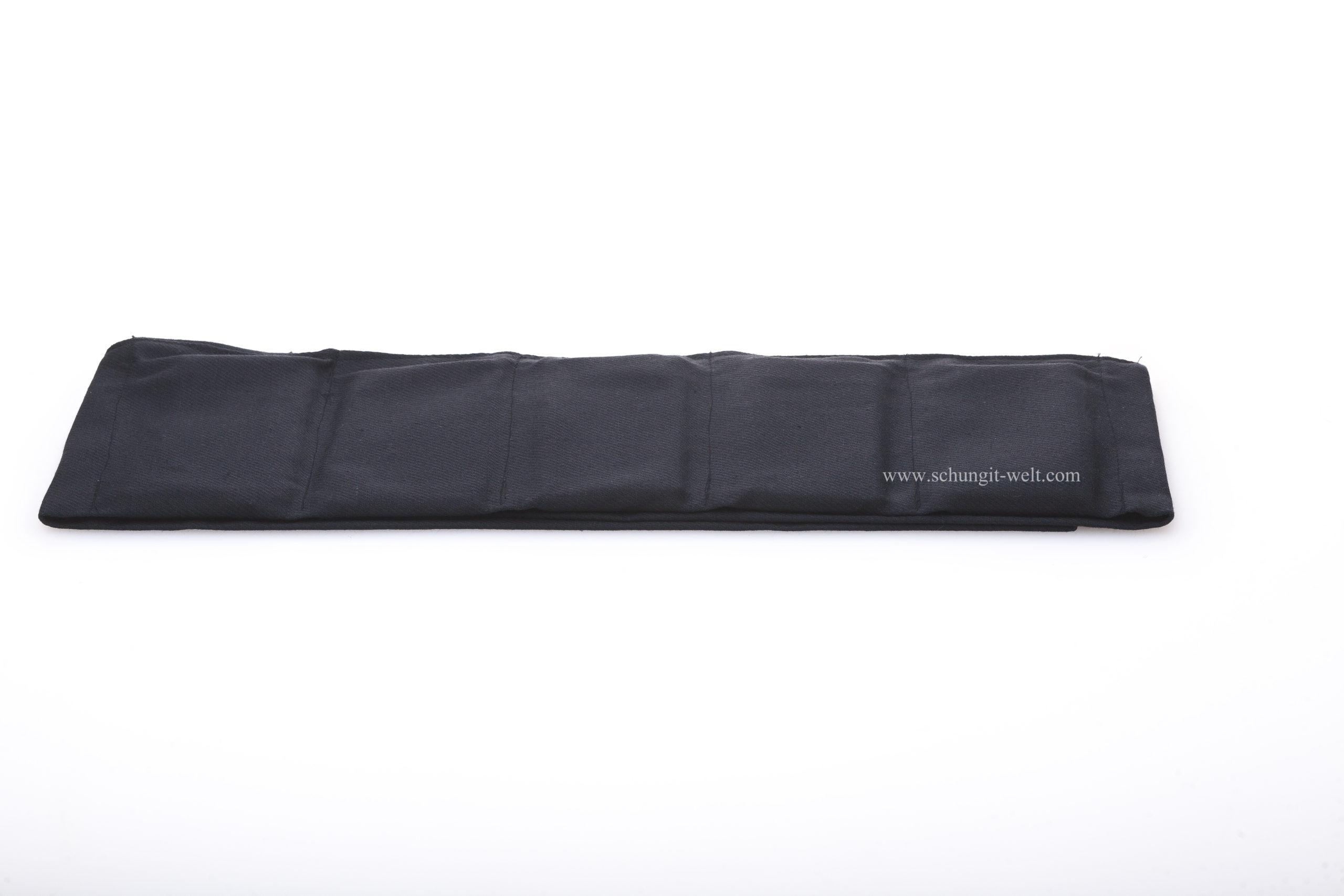 Gürtel mit Schungit-Platten -432