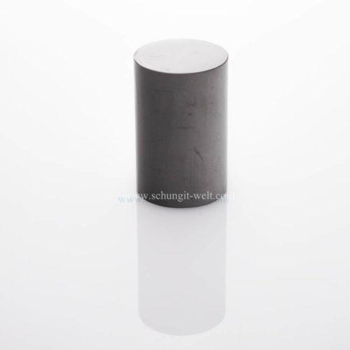 Schungit-Zylinder poliert-0