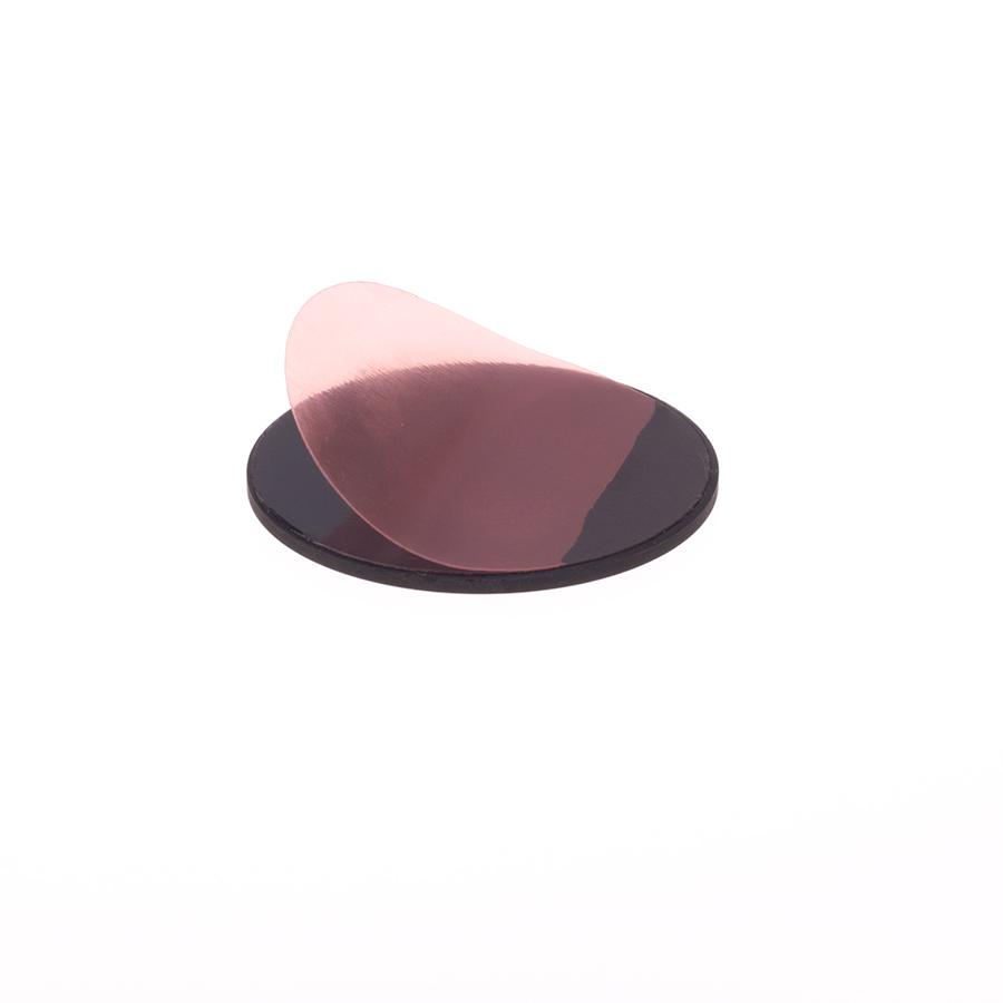 Schungit-Scheibe für Laptop 5cm poliert, selbstklebend-0